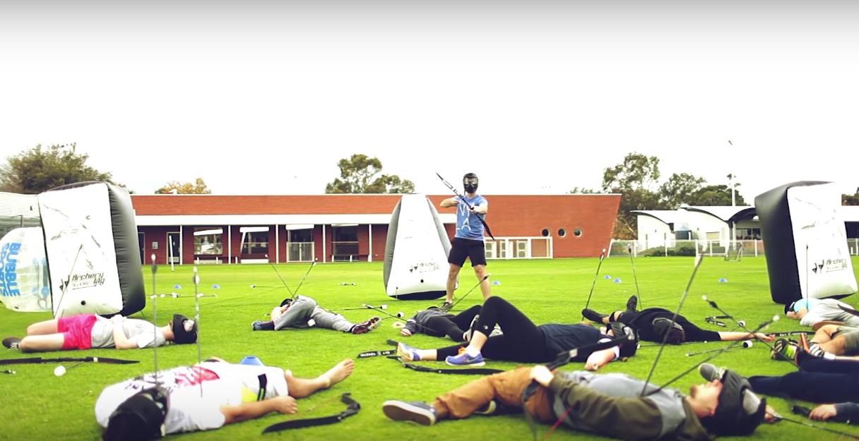 Archerytag - Combat archery - Archery tag