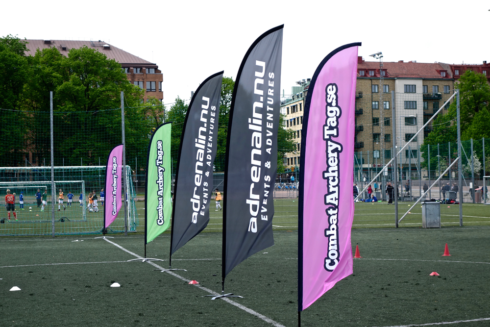 Archerytag - Combat archery - Archery tag -Barnkalas i Göteborg