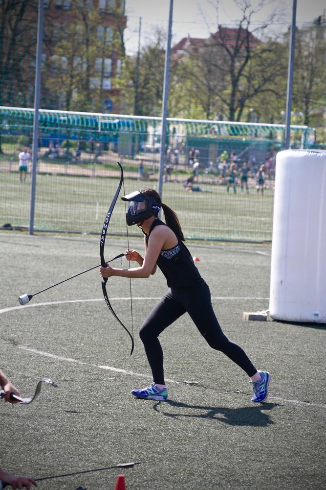 Combat archery tag Göteborg Barnkalas i Göteborg