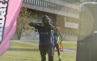 Combat archery tag i Stockholm